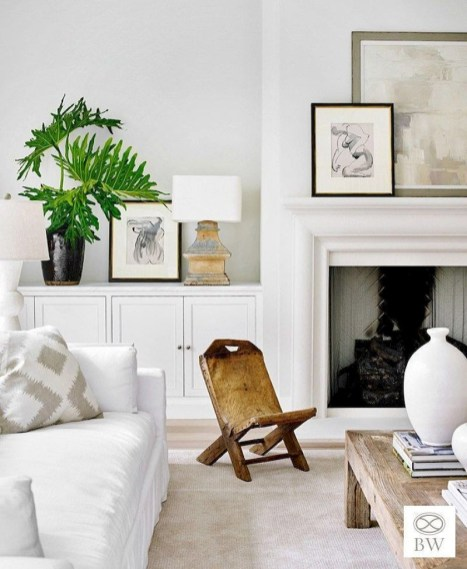 Spring living room design ideas that you can copy right now 48