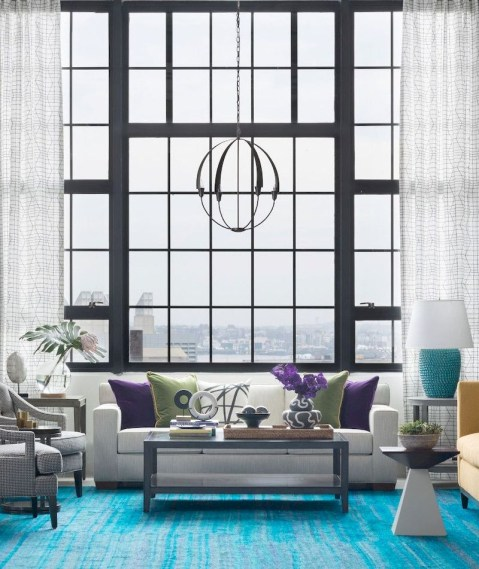 Spring living room design ideas that you can copy right now 49