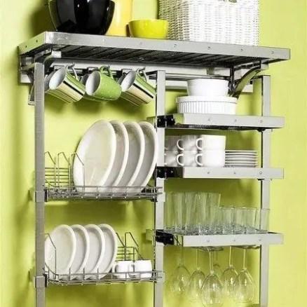 The best kitchen appliance storage rack design ideas 04