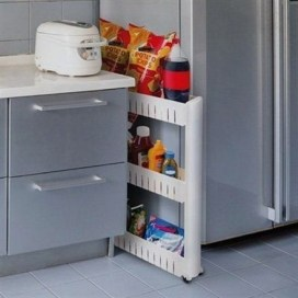 The best kitchen appliance storage rack design ideas 20
