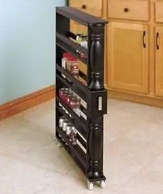 The best kitchen appliance storage rack design ideas 30