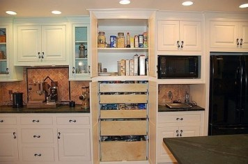 The best kitchen appliance storage rack design ideas 33