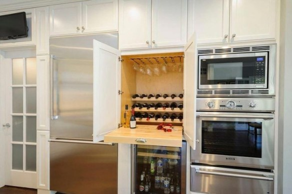 The best kitchen appliance storage rack design ideas 53