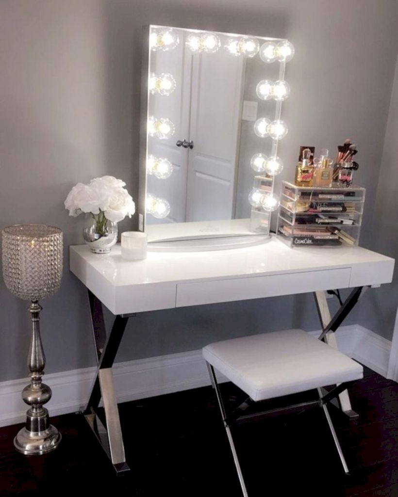 The best makeup table design ideas that you must copy right now 05