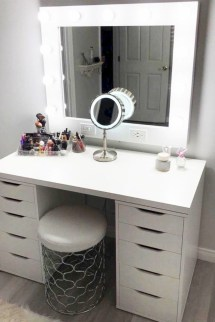 The best makeup table design ideas that you must copy right now 19
