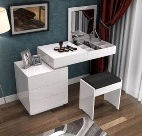 The best makeup table design ideas that you must copy right now 51