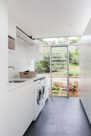 Trend small laundry room design ideas that you can try 22