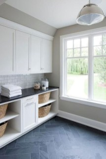 Trend small laundry room design ideas that you can try 23