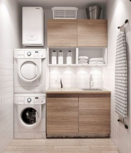 Trend small laundry room design ideas that you can try 29