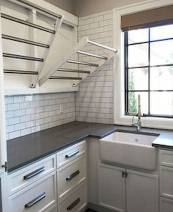 Trend small laundry room design ideas that you can try 36