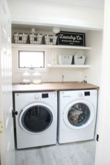Trend small laundry room design ideas that you can try 47