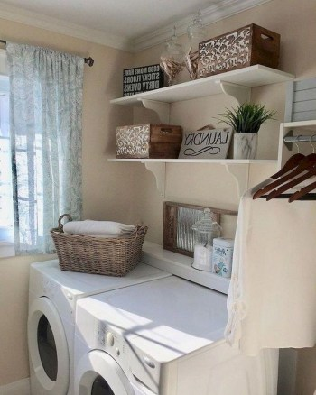 Trend small laundry room design ideas that you can try 52