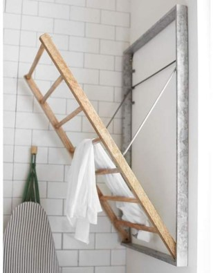 Drying rack design ideas that you can try 07
