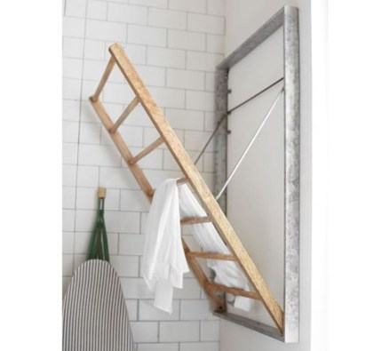 Drying rack design ideas that you can try 08