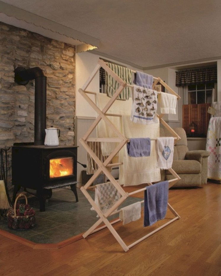 Drying rack design ideas that you can try 21