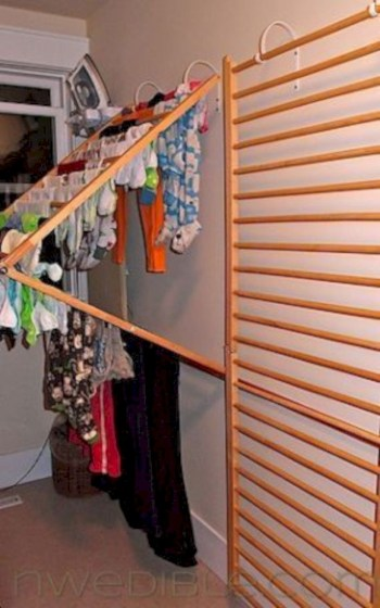 Drying rack design ideas that you can try 28