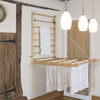 Drying rack design ideas that you can try 30