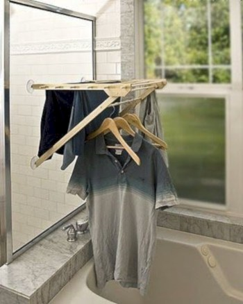 Drying rack design ideas that you can try 36
