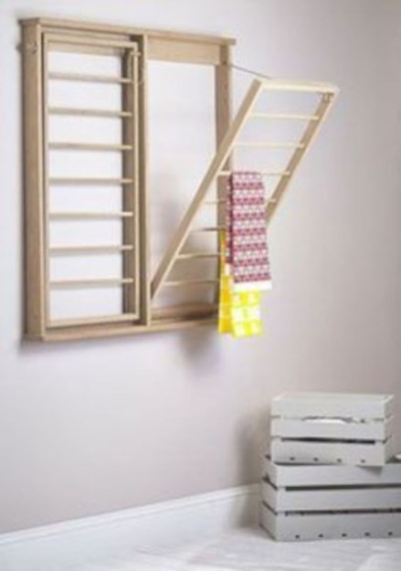 Drying rack design ideas that you can try 44