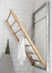 Drying rack design ideas that you can try 48