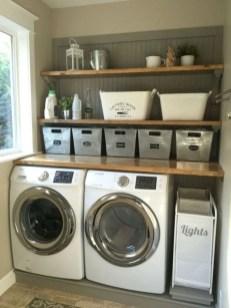 Inspiring small laundry room design ideas in spring 2019 32