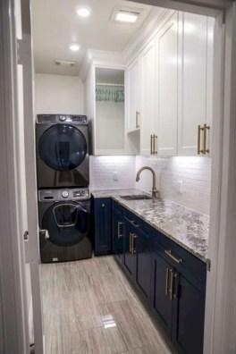 Inspiring small laundry room design ideas in spring 2019 34
