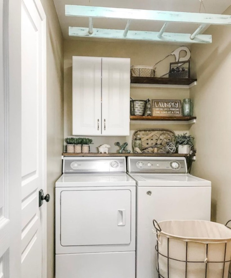 Laundry design ideas with drying room that you must try 09