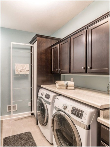 Laundry design ideas with drying room that you must try 10