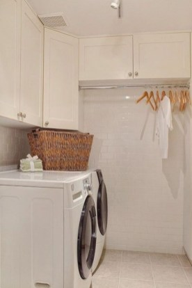 Laundry design ideas with drying room that you must try 15