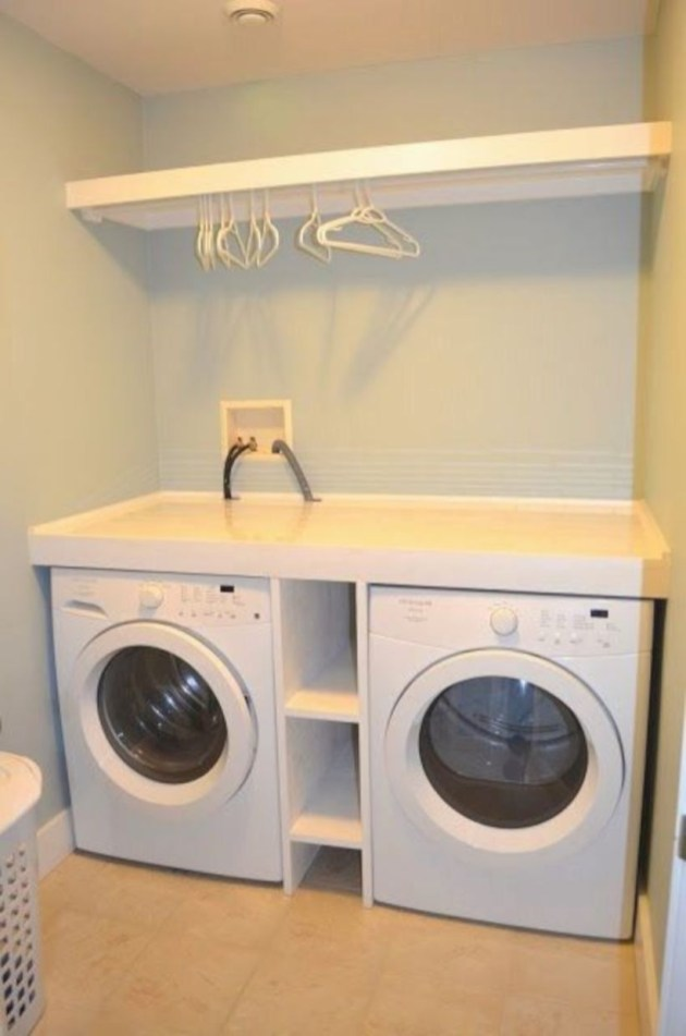 Laundry design ideas with drying room that you must try 18