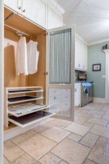 Laundry design ideas with drying room that you must try 24