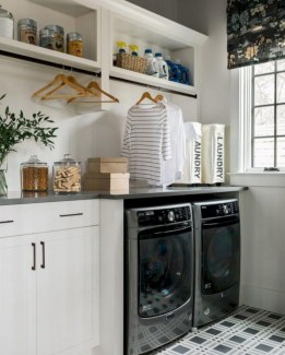 Laundry design ideas with drying room that you must try 26