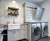 Laundry design ideas with drying room that you must try 38