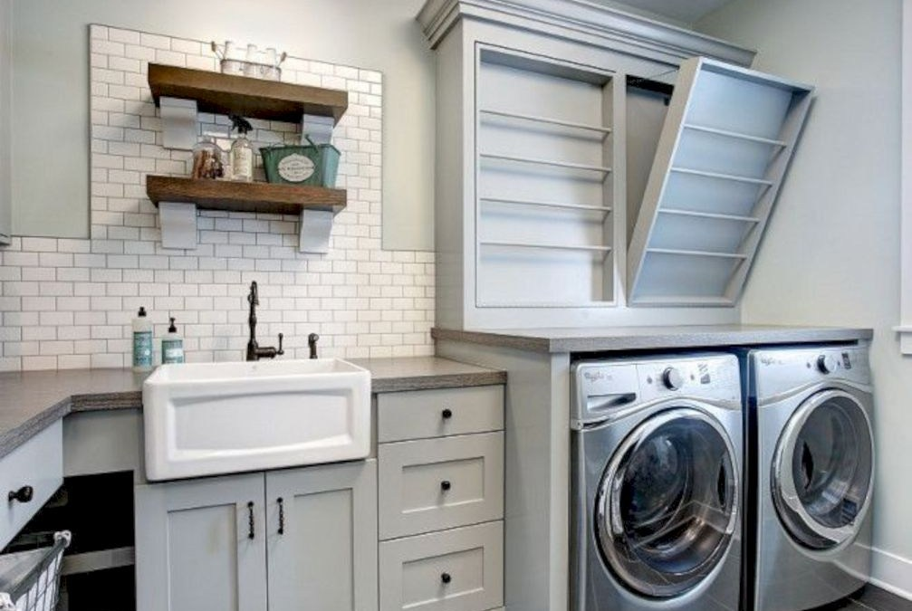 53 Laundry Design Ideas With Drying Room That You Must Try