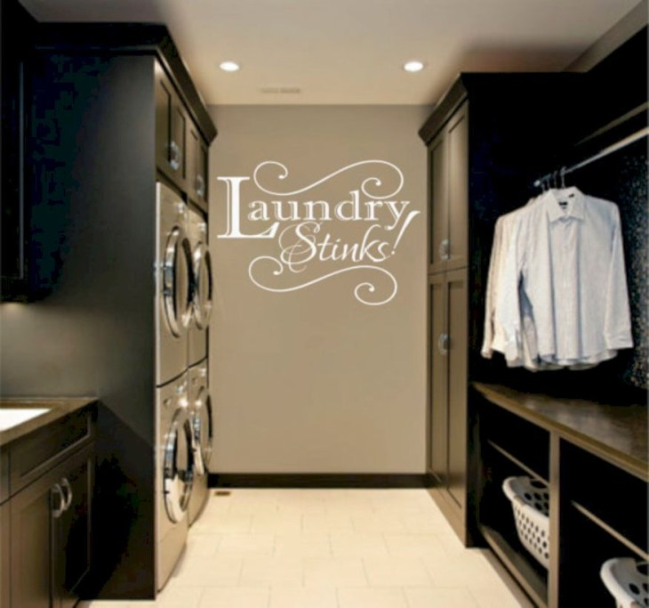 Laundry design ideas with drying room that you must try 42