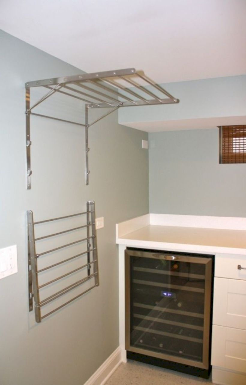 Laundry design ideas with drying room that you must try 49