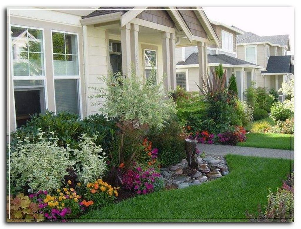 Best front yard design ideas for summer in your home 19