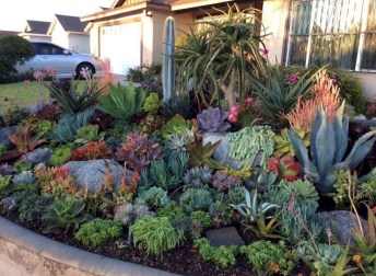Best front yard design ideas for summer in your home 23
