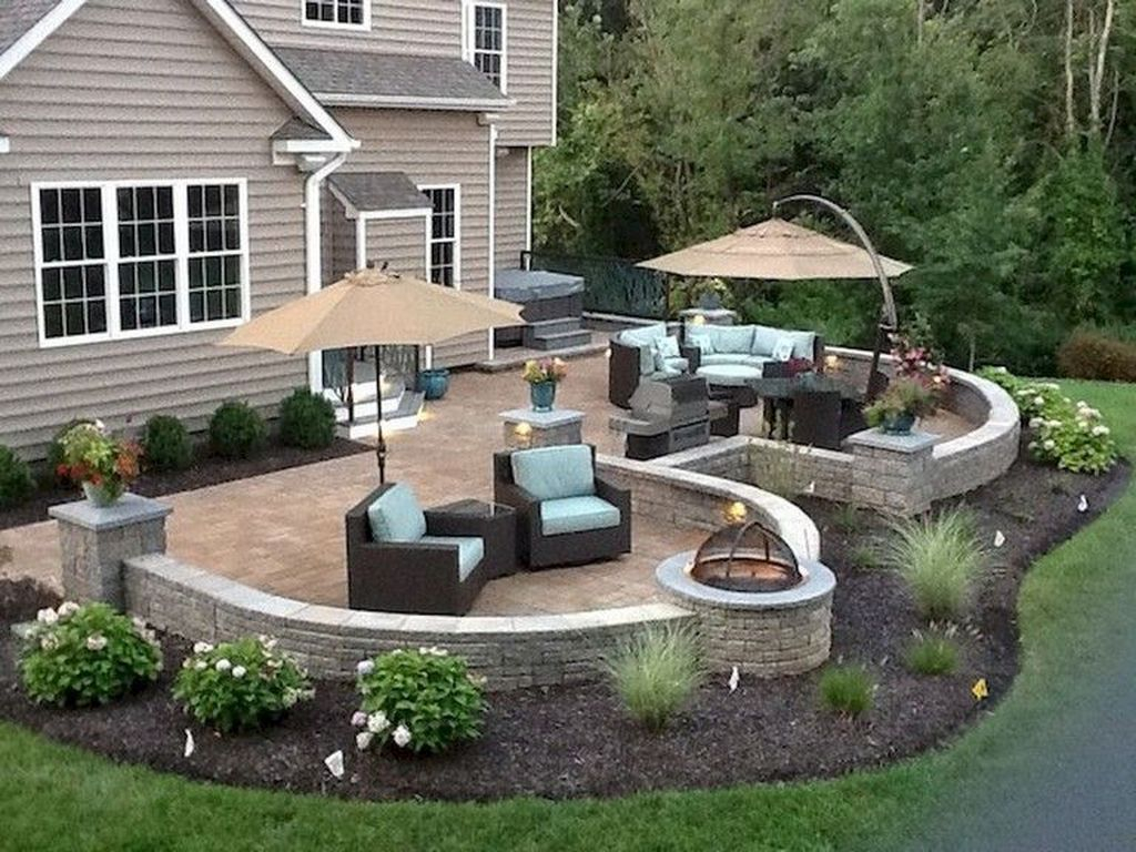 Best front yard design ideas for summer in your home 34