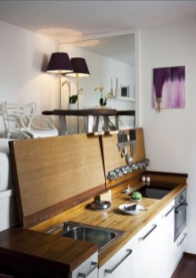 How to organize kitchen in your apartment that inspiring 03