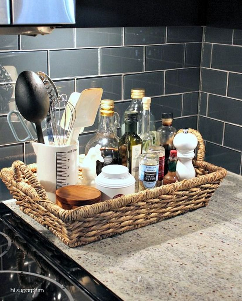 How to organize kitchen in your apartment that inspiring 06