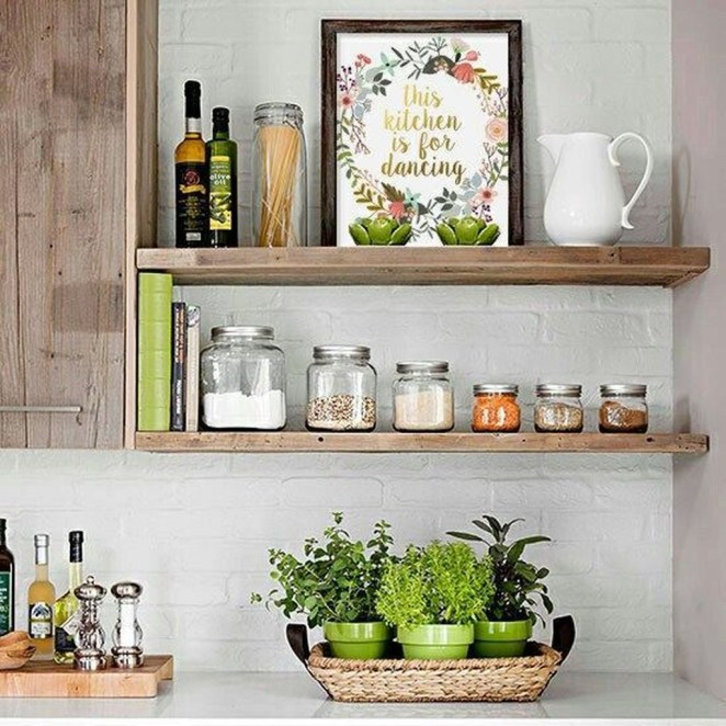How to organize kitchen in your apartment that inspiring 14