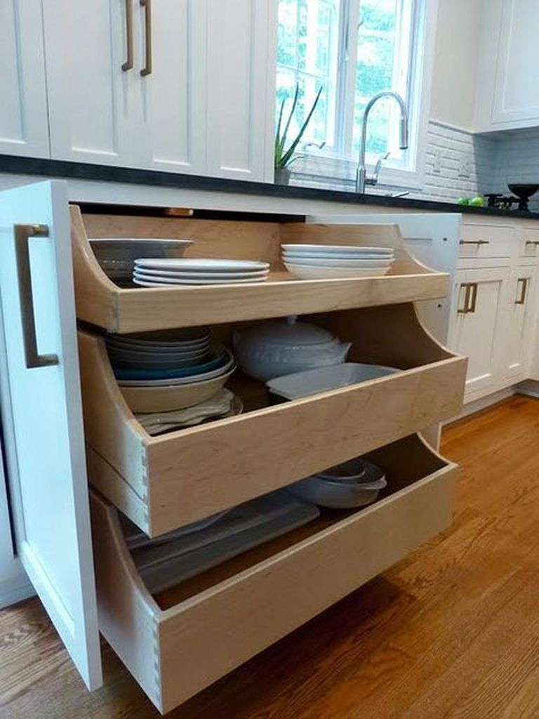 How to organize kitchen in your apartment that inspiring 40