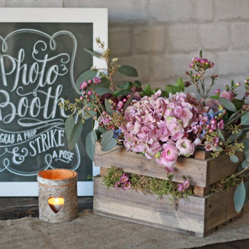 Inspiring wooden box ideas for flower that you can try 03