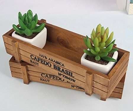 Inspiring wooden box ideas for flower that you can try 39