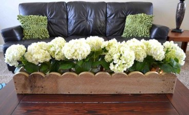 Inspiring wooden box ideas for flower that you can try 42