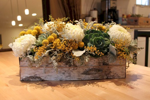 Inspiring wooden box ideas for flower that you can try 48