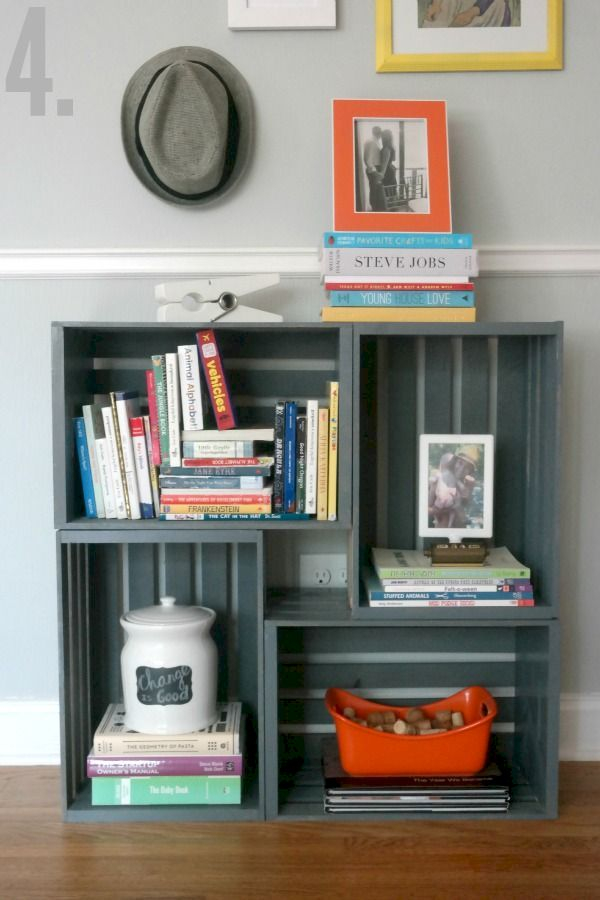 Versatile boxes decoration ideas that you can use in your home 32