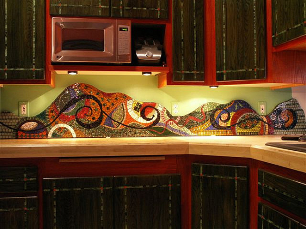 Adorable diy mosaic craft ideas to beautify your home decoration 03