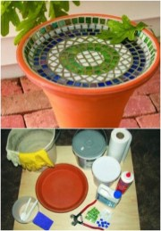 Adorable diy mosaic craft ideas to beautify your home decoration 27